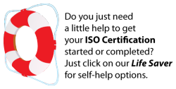 help with iso 9000 certification requirements